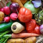 Bunter Gemüsekorb